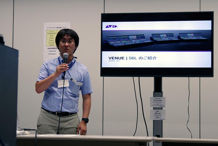 ・AVID ・VENUE S6L system ・(株) オーディオブレインズ