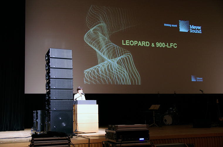 ・Meyer Sound ・LEOPARD/900-LFC ・(株)エイ・ティー・エル